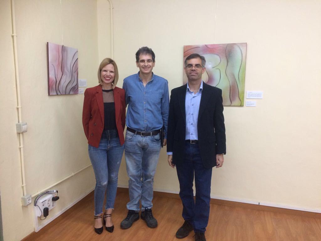 """La Casa de la Cultura de Arucas acoge la exposición """"De Violencia a Paz de Género"""" del artista Carmelo León"""