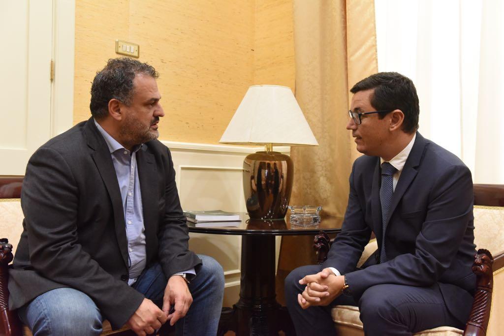 Pablo Rodríguez confirma al alcalde de La Laguna que el Gobierno de Canarias encargará un estudio de alternativas para el soterramiento de la TF-5