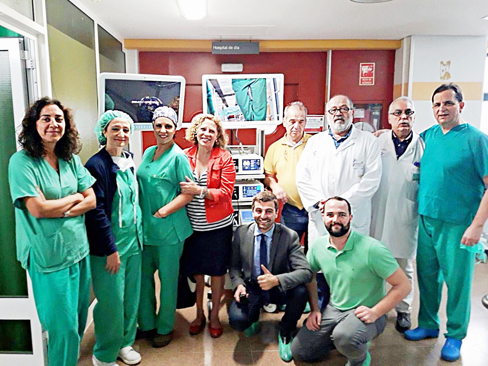 Sanidad invierte 240.000 euros en equipamiento para los quirófanos del Hospital General de La Palma