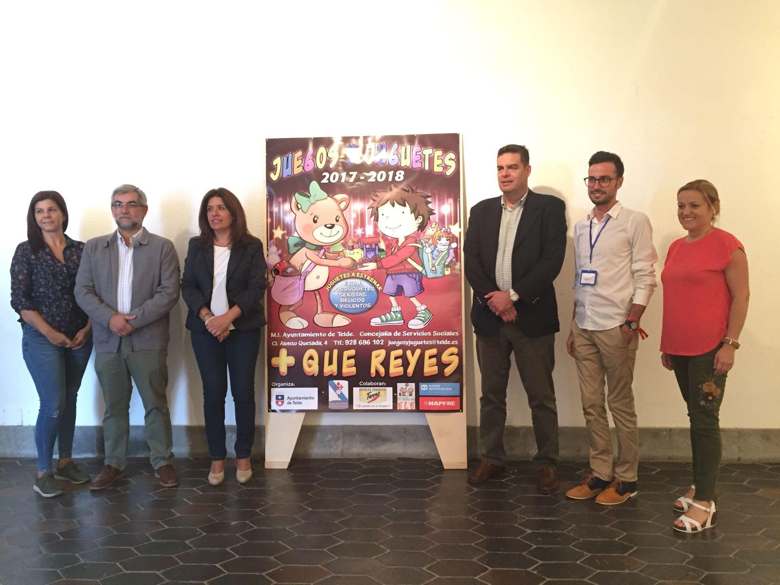 El ayuntamiento de Telde pone en marcha una nueva campaña navideña de recogida de juguetes