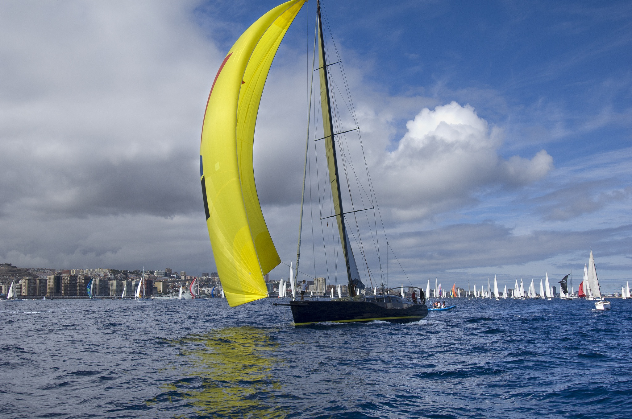 Las Palmas de Gran Canaria despide a los veleros de la 32 regata ARC este domingo
