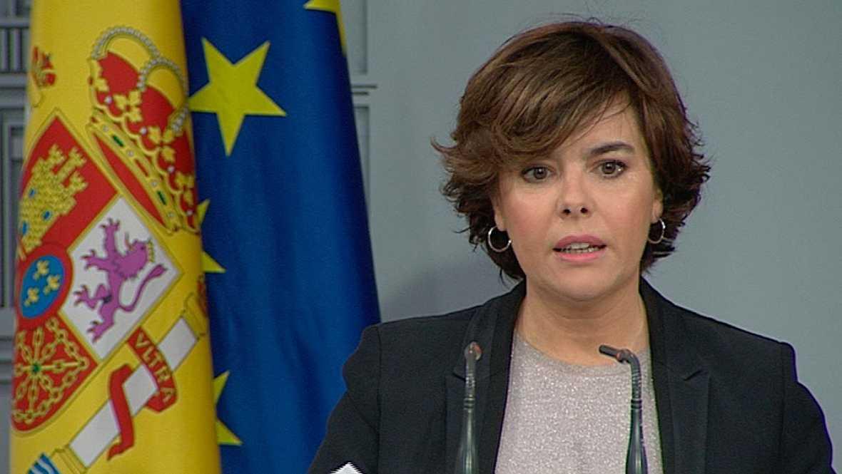"""Sáenz de Santamaría: """"Canarias, uno de los territorios de la UE más atractivos fiscalmente"""""""