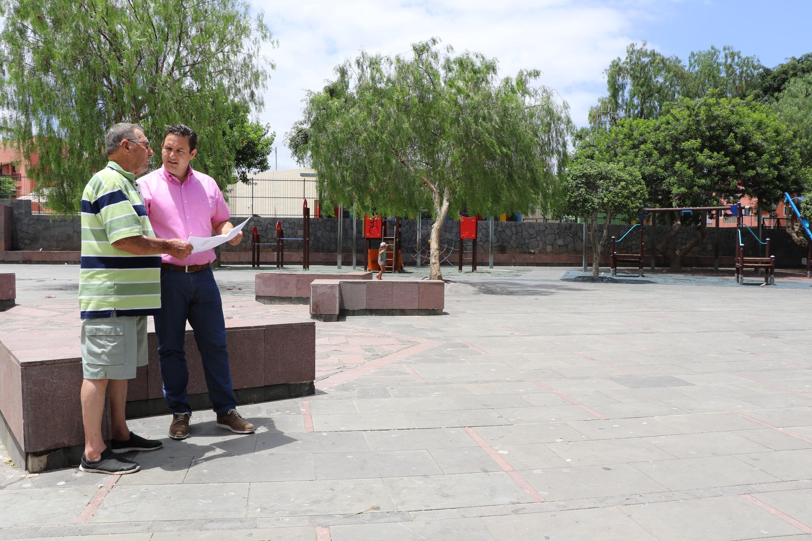 Arona garantiza el uso público como aparcamiento de un terreno en Las Galletas
