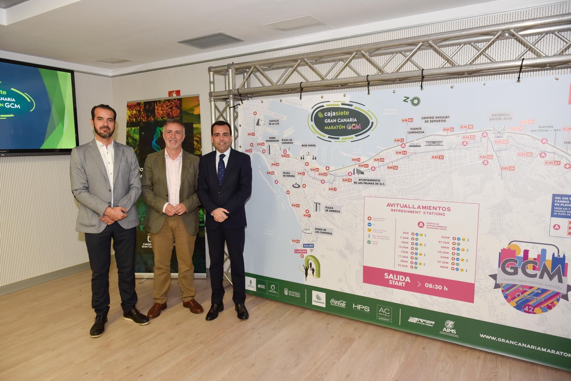 El Cajasiete GC Maratón 2018 presenta su mejorado recorrido a una vuelta