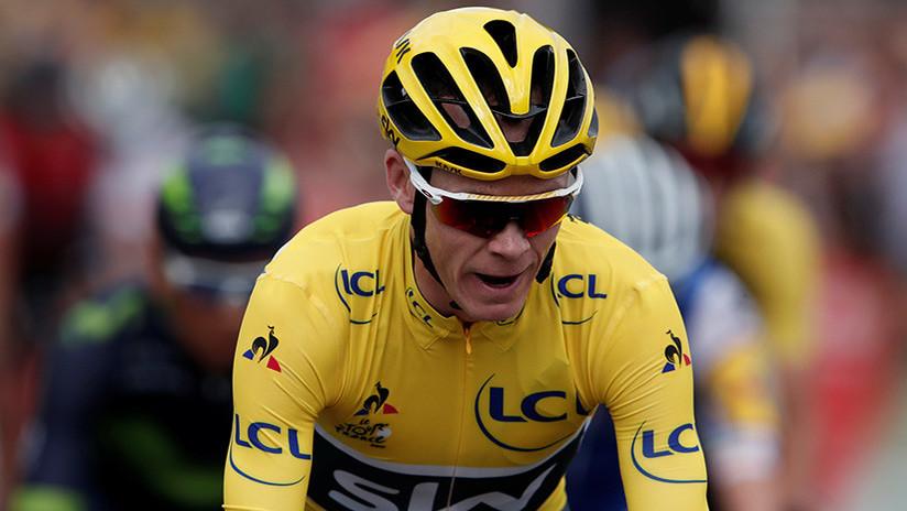 El ciclista Chris Froome dio positivo por dopaje en la pasada Vuelta a España