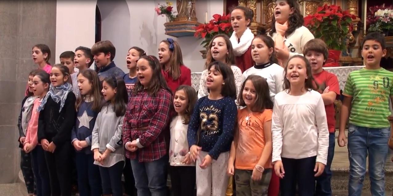 El VII Encuentro de Corales Escolares ofrecerá un repertorio de villancicos para 1500 espectadores de Tafira a Tejeda