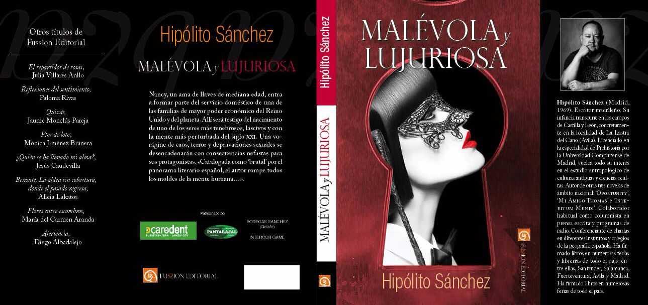 Hipólito Sánchez presenta su novela 'Malévola y lujuriosa' en el Auditorio de Gran Tarajal