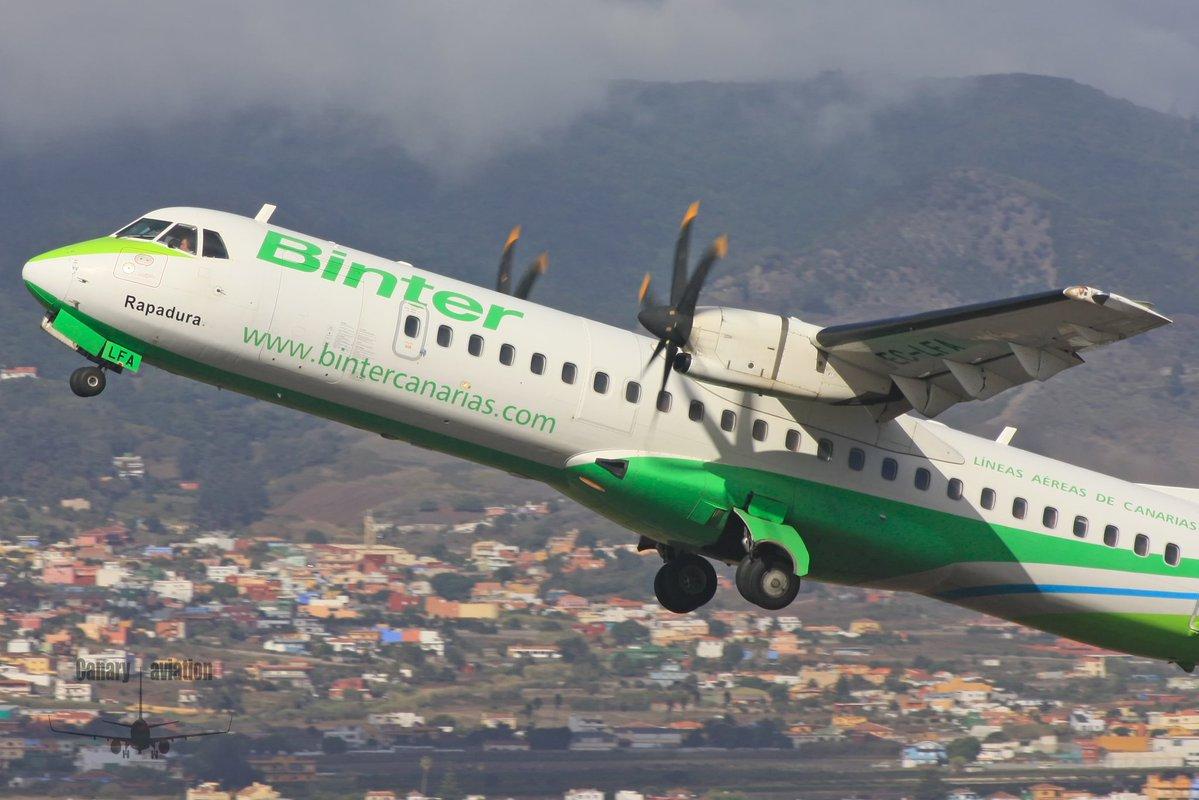 Binter cancela las rutas entre La Gomera y Tenerife por meteorología adversa