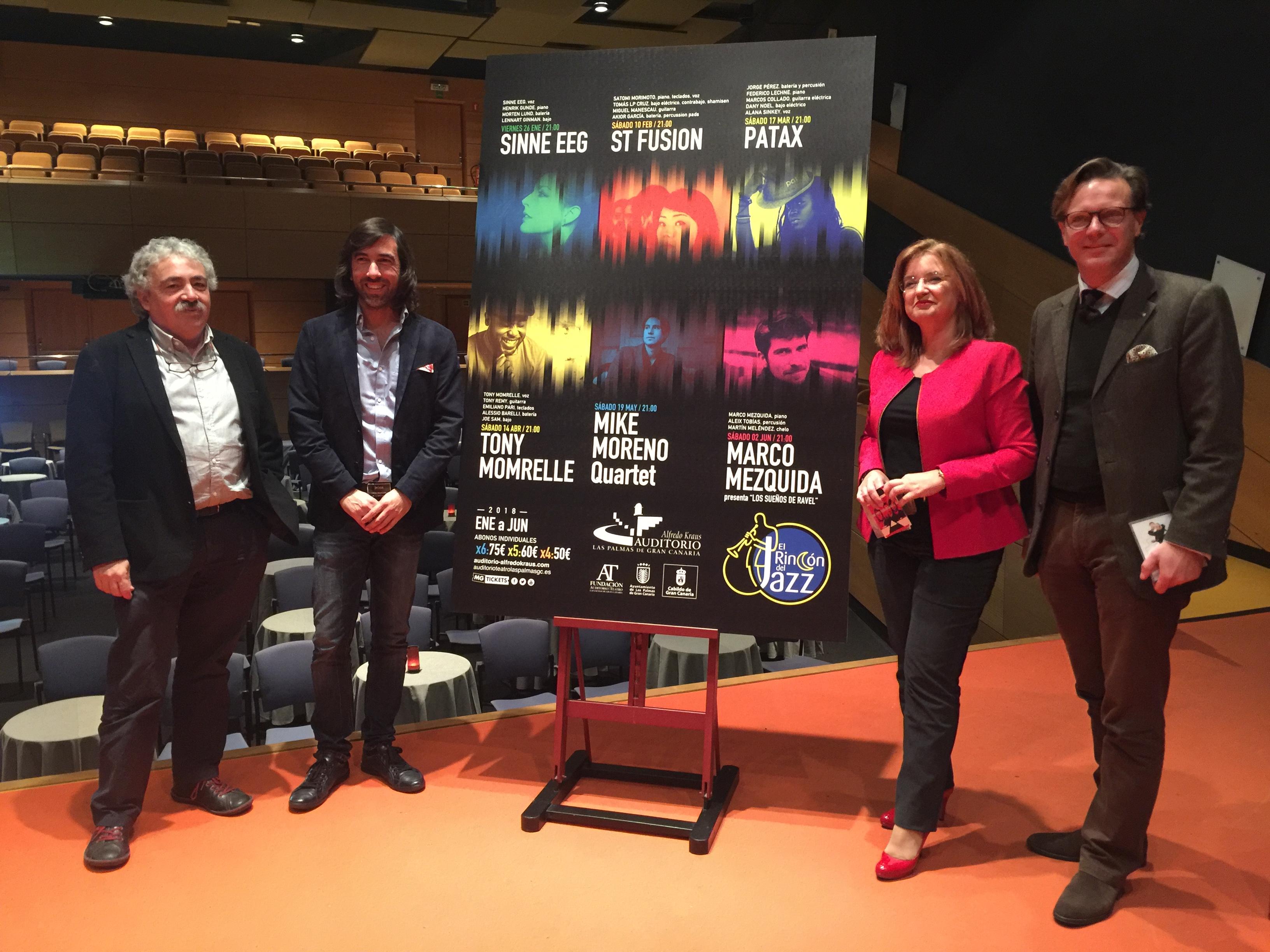 El Auditorio Alfredo Kraus lanza un abono para los conciertos del 'Rincón del Jazz'