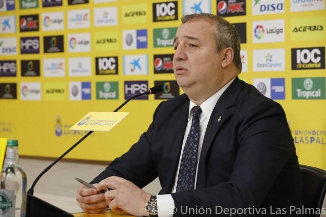 """Miguel Ángel Ramírez: """"Paco Jémez seguirá pase lo que pase"""""""