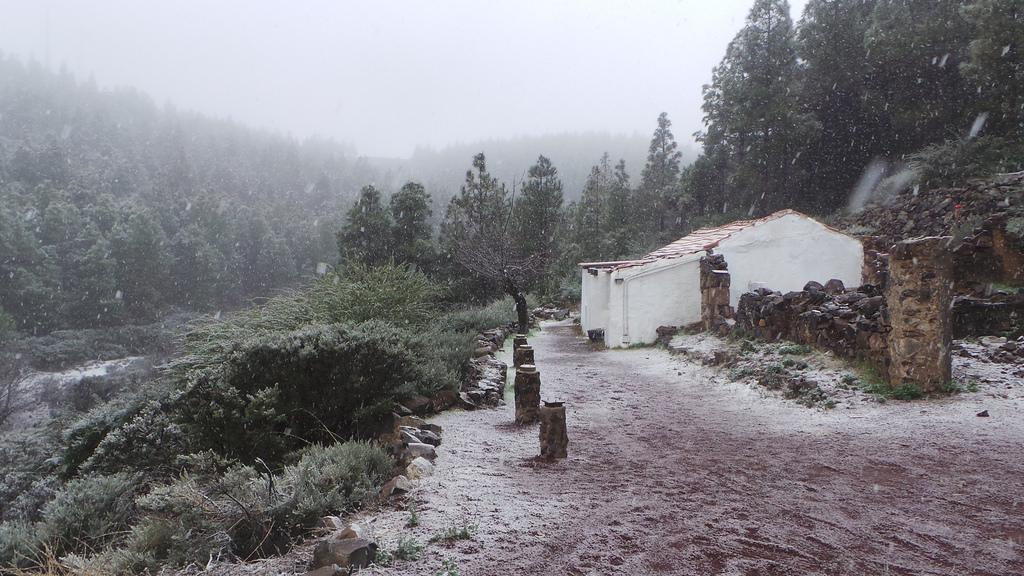 Anuncian posibles nevadas para hoy en Gran Canaria, Tenerife y La Palma