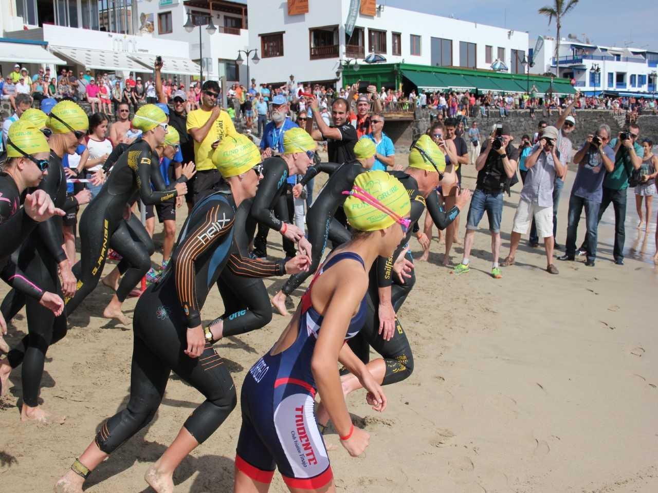 Un mes para la celebración de la sexta edición de la Timanfaya Triathlon