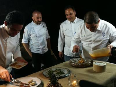 El chef Ángel León, cuatro estrellas Michelin, embajador de los productos agroalimentarios herreños