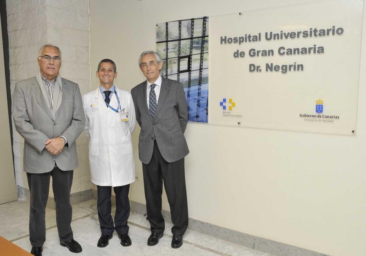 El Hospital Dr. Negrín y la Asociación Española contra el Cáncer firman un convenio