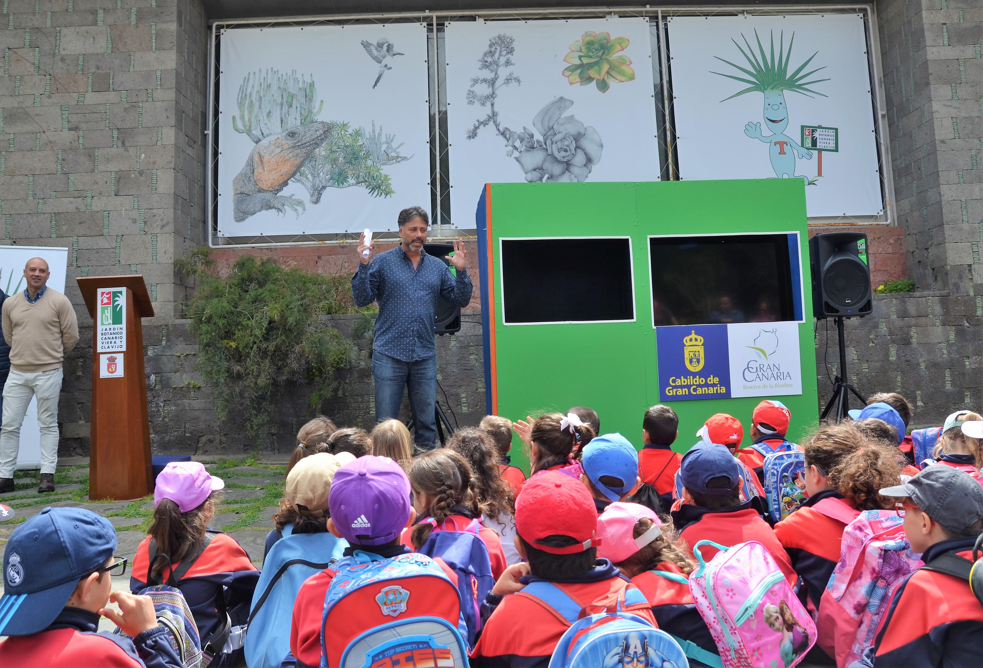 El jard n canario potencia su oferta de educaci n for El jardin canario