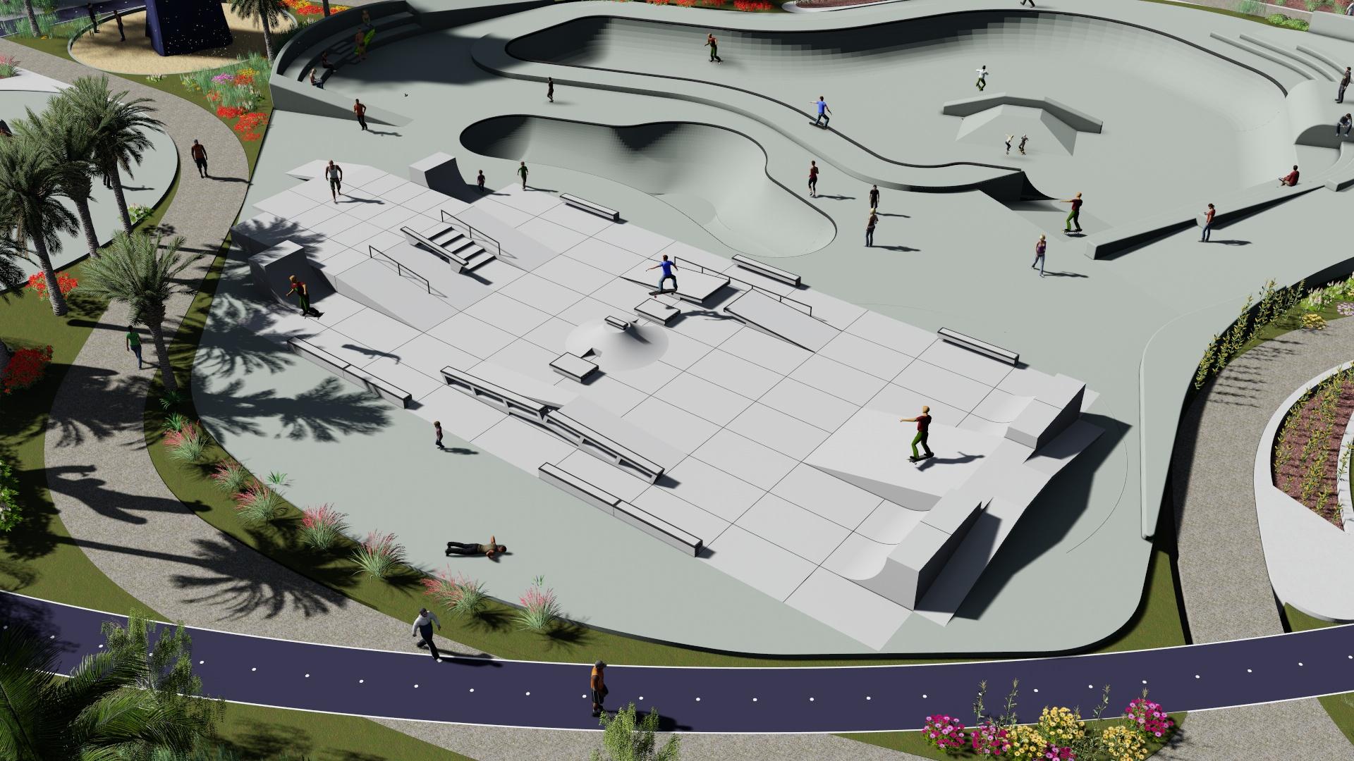 Maspalomas modernizará su Skatepark con 340.000 euros