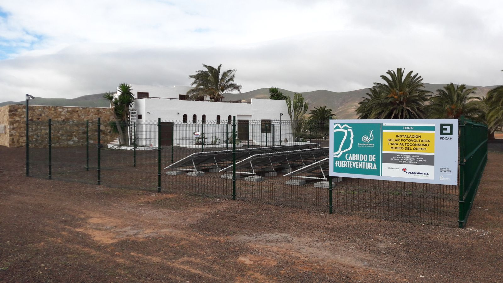 El Museo del Queso Majorero se autoabastece de energía solar