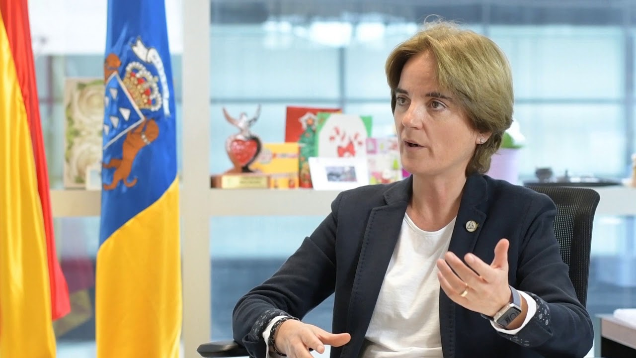 La fiscal decana de Las Palmas, Rosa Rubio, elegida vocal del Consejo Estatal