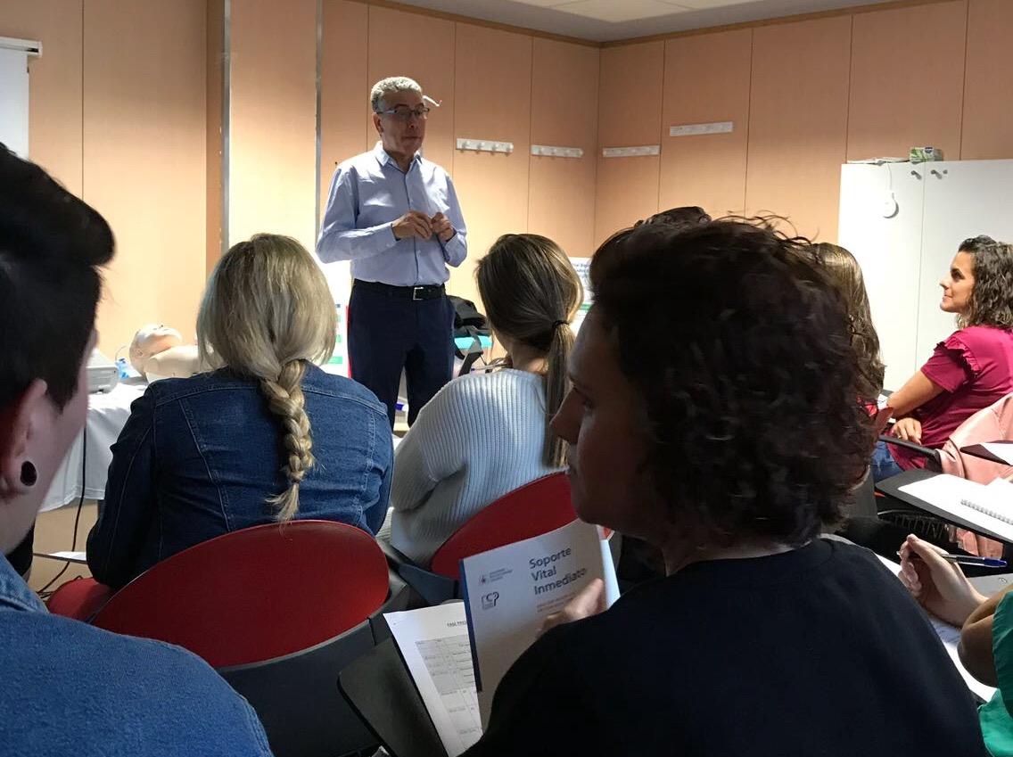 El Hospital José Molina Orosa acoge la primera edición del curso de Soporte Vital Inmediato