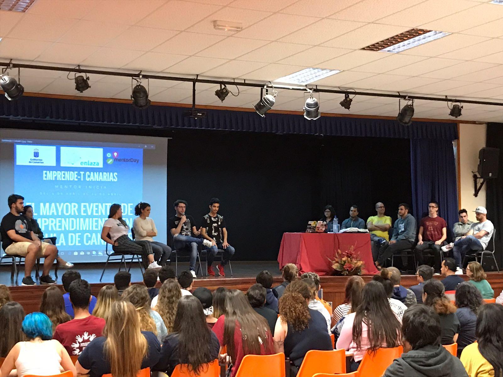 Las jornadas Emprende-T Canarias alcanzan en su ecuador más de 2.500 participantes