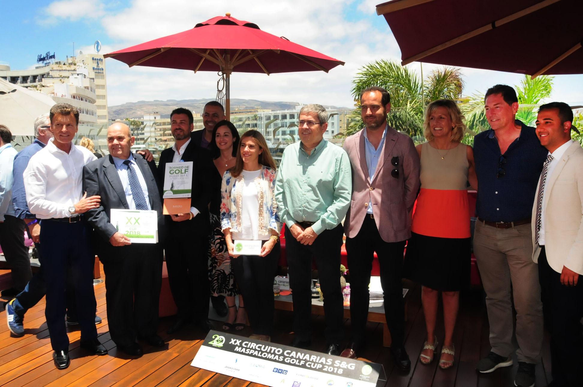 El Circuito Maspalomas Golf Cup ya alcanza la veintena de ediciones