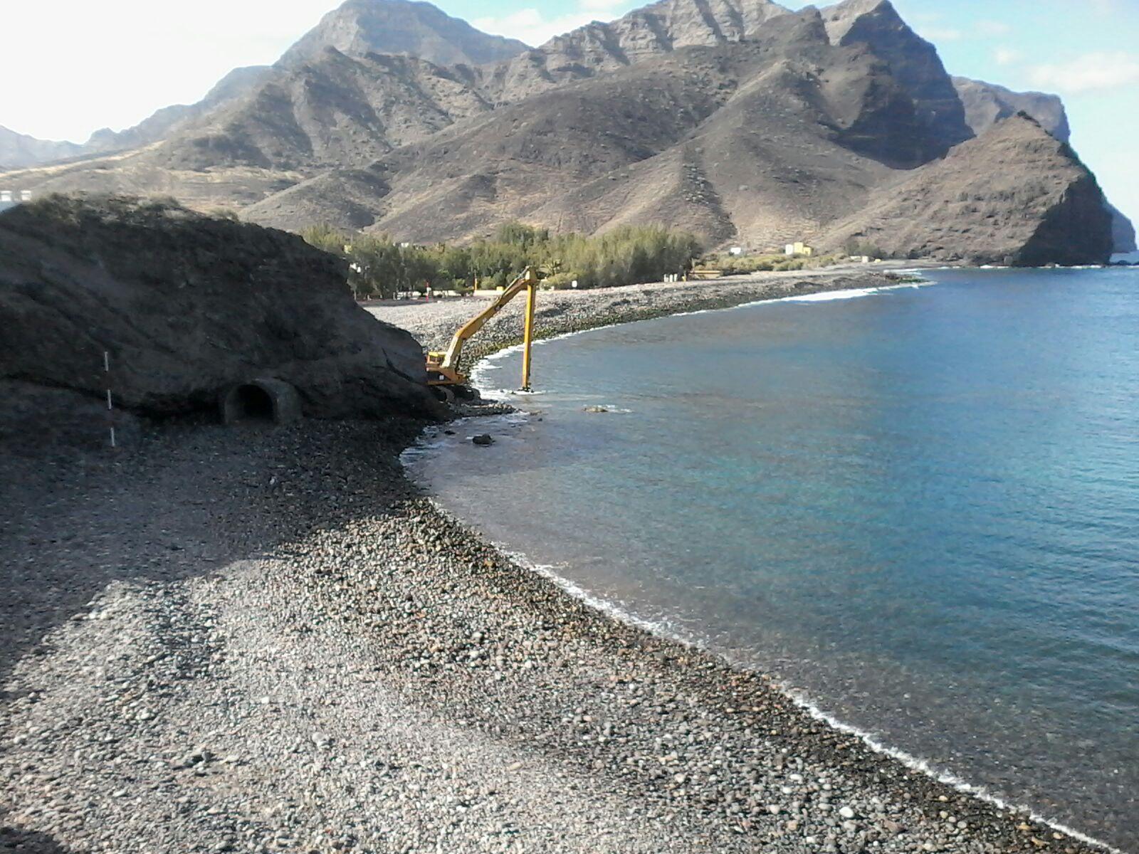 La concejalía de Playas habilita las zonas de baño de La Aldea de cara al verano