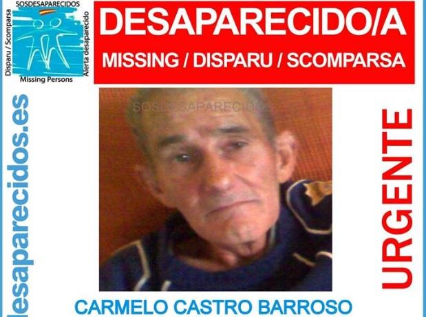 Buscan a un hombre de 68 años desaparecido en Santa Úrsula