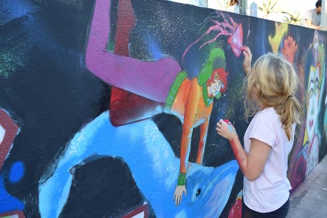 La IV Semana de Arte Urbano tiñó de color y cultura las calles de Puerto del Rosario
