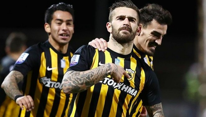 La UD Las Palmas recibe del AEK Atenas 2 millones de euros por Livaja