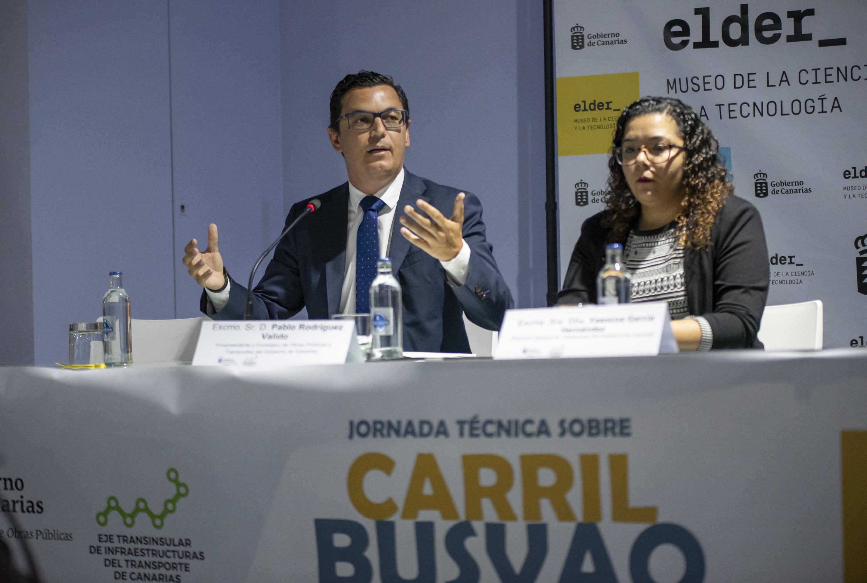 El Gobierno apuesta por los carriles Bus-VAO para Gran Canaria y Tenerife