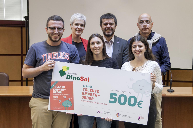 La Fundación DinoSol entrega 4 premios de 500 euros