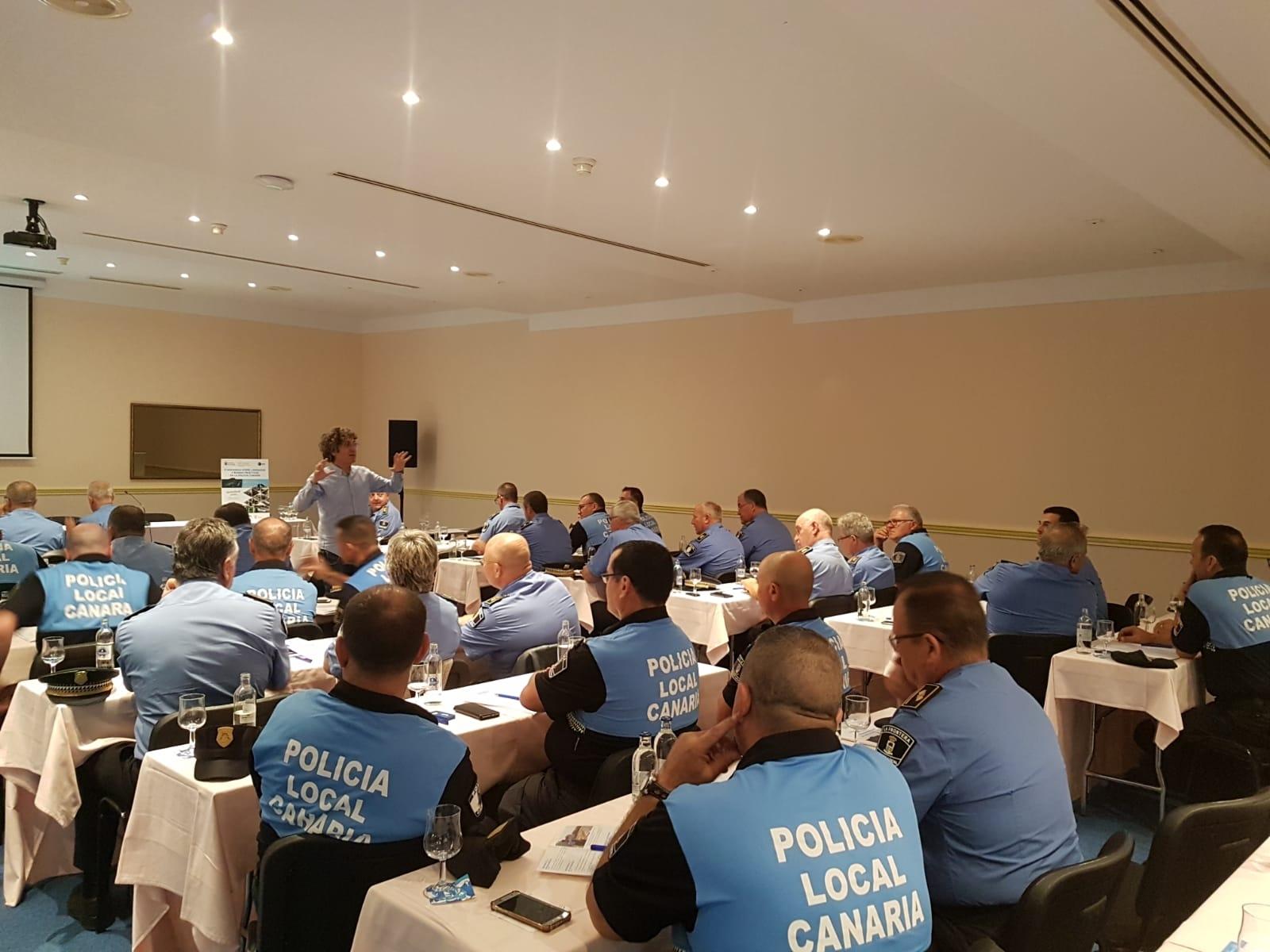 Política Territorial forma a 70 jefes y mandos policiales de Canarias sobre el liderazgo y buenas prácticas