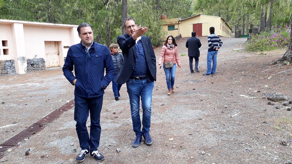 El PP exige al Cabildo la recuperación y puesta en uso del campamento de Tamadaba