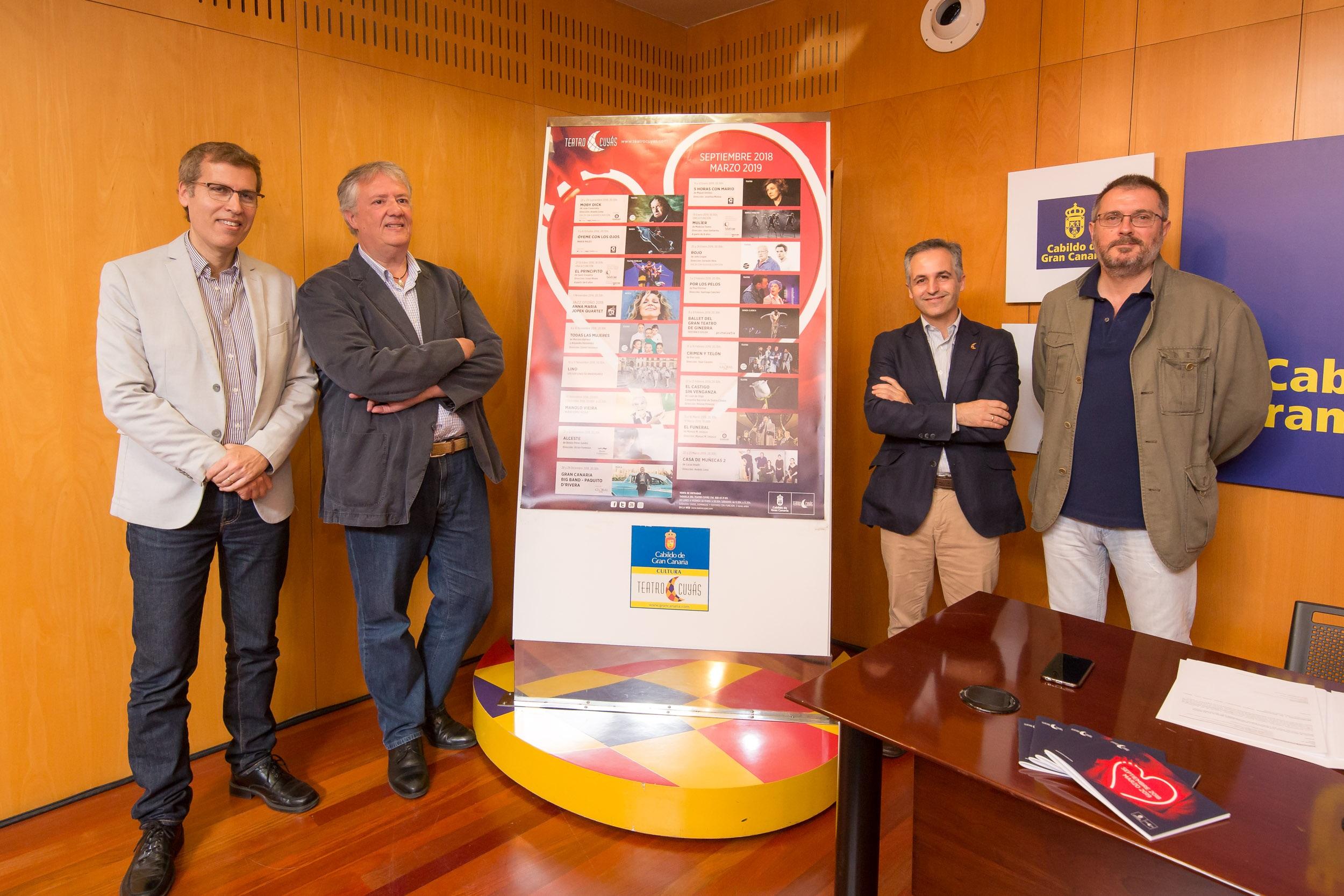 El Cuyás estrenará una nueva versión de 'Alceste' en el marco del Bienio Galdosiano