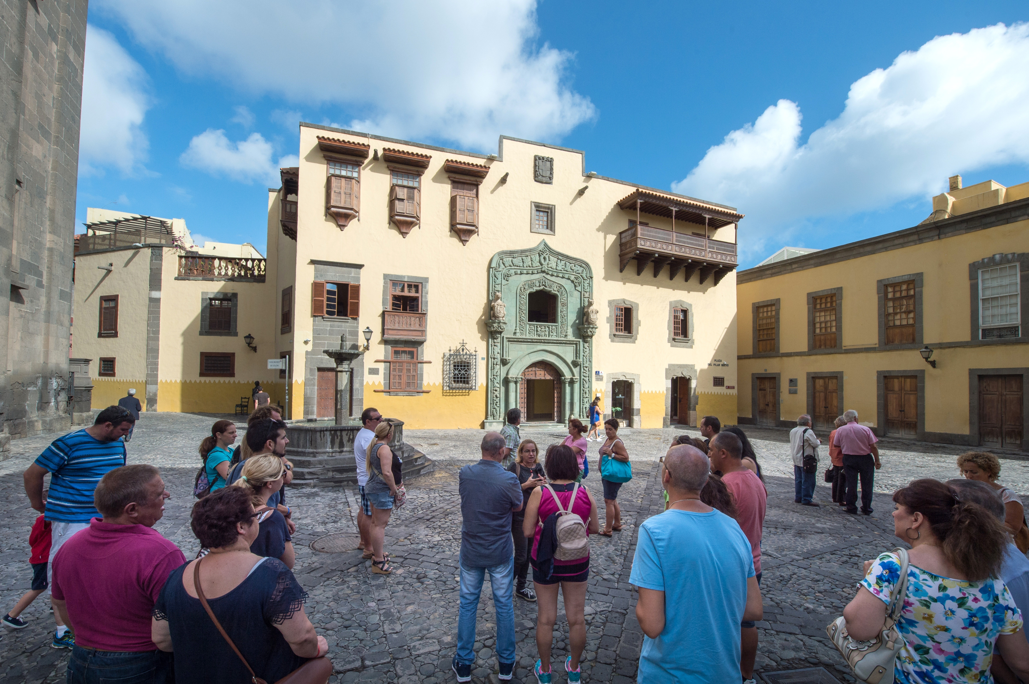 La Casa de Colón celebra una jornada de puertas abiertas en el 540 aniversario de la fundación