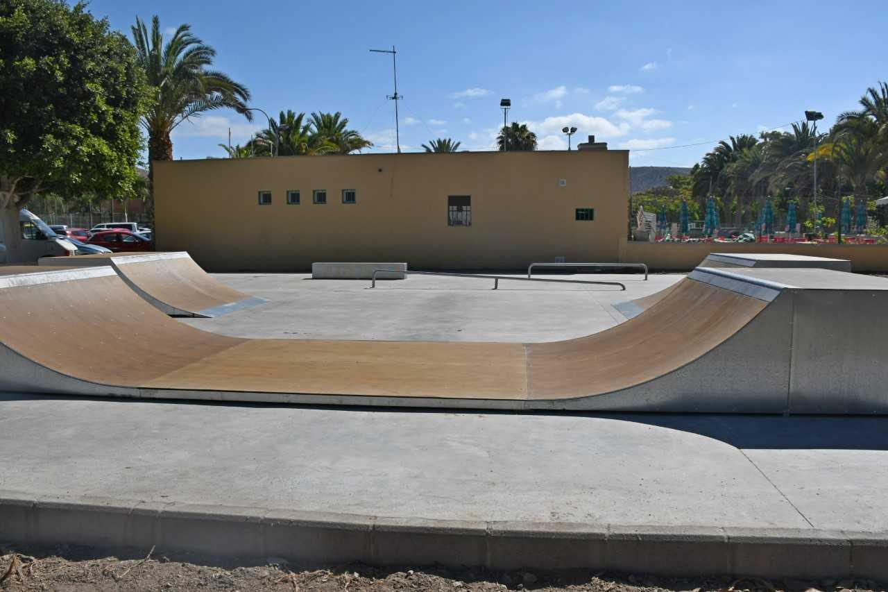 Resultado de imagen de Nuevo skate park en El Sauzal