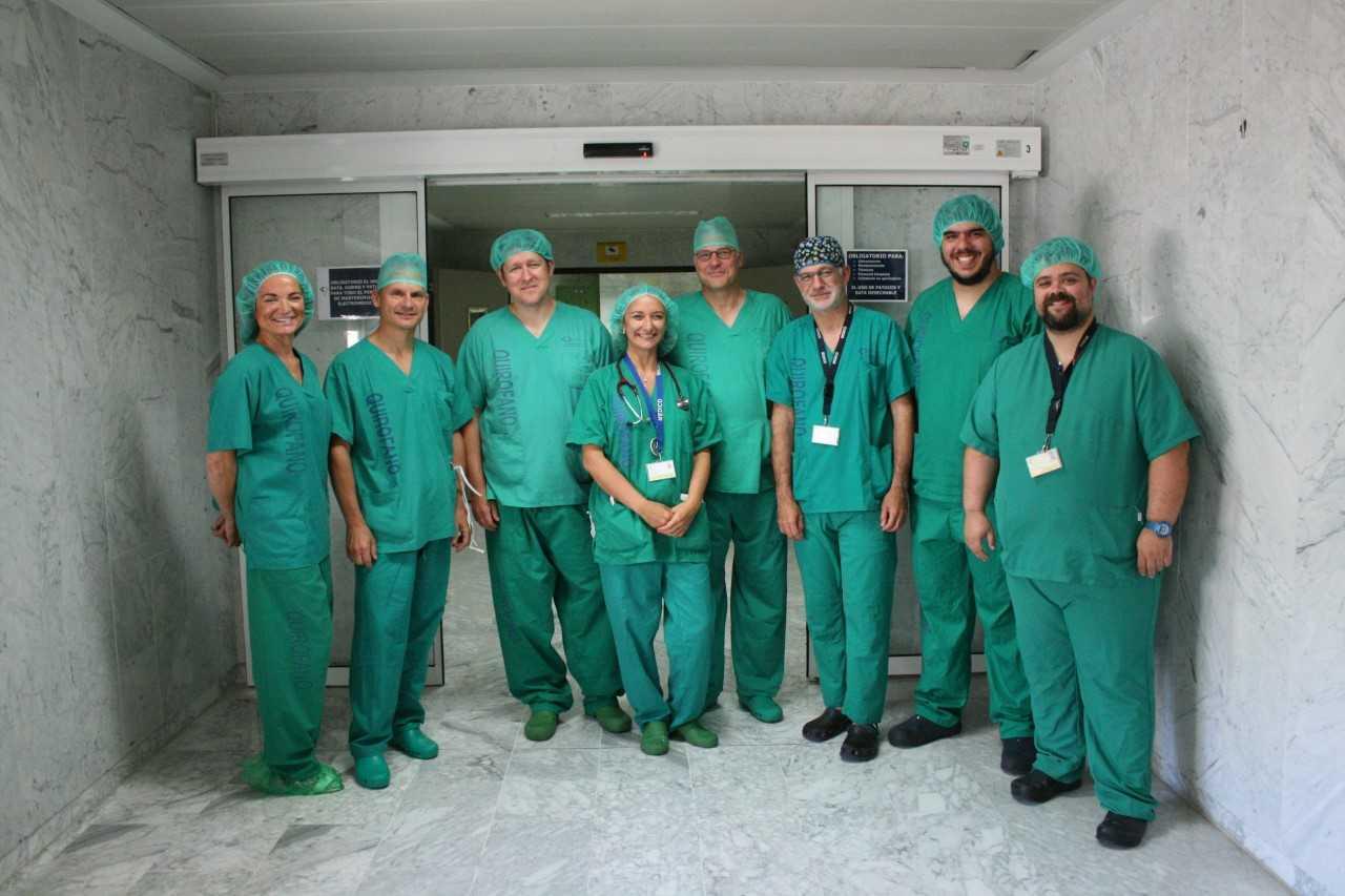 El Hospital de La Candelaria forma a traumatólogos europeos en cirugía de hombro