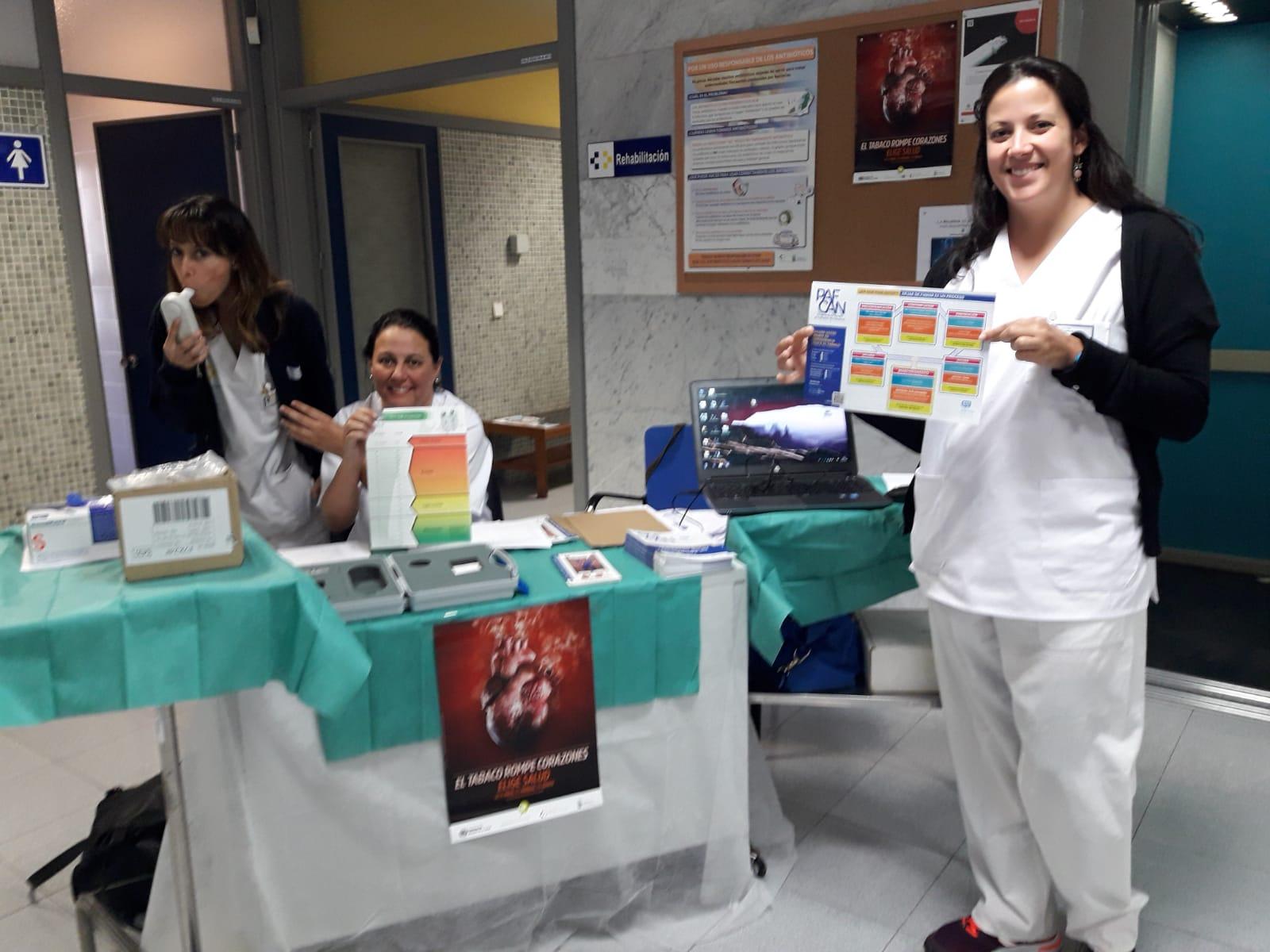 Lanzarote celebra el Día Mundial sin Tabaco