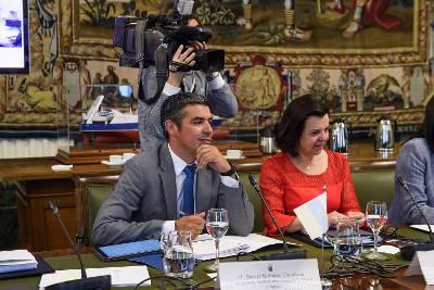 Narvay Quintero plantea en Madrid la necesidad mantener los fondos europeos destinados al sector primario