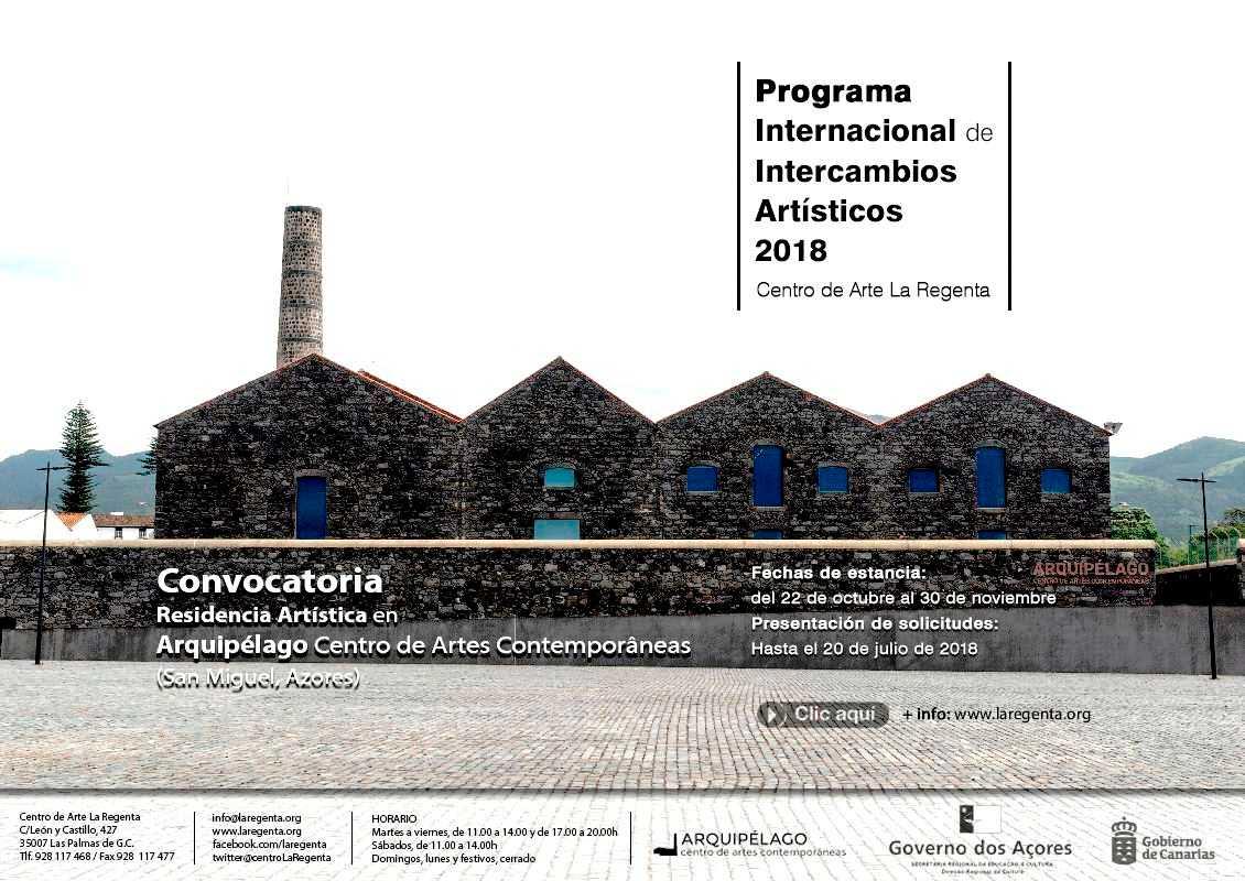 Nueva convocatoria del programa internacional de intercambios artísticos del Centro de Arte La Regenta
