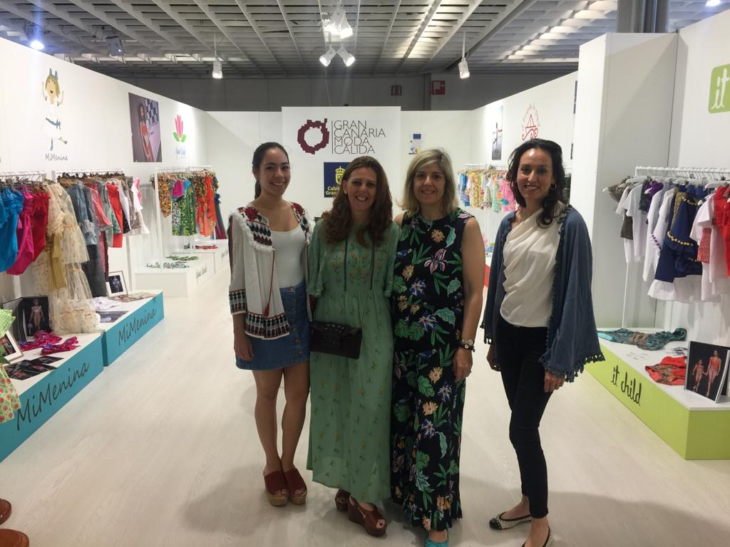 Cuatro firmas infantiles de Gran Canaria Moda Cálida despliegan sus creaciones en la Feria Pitti Imagine Bimbo de Italia