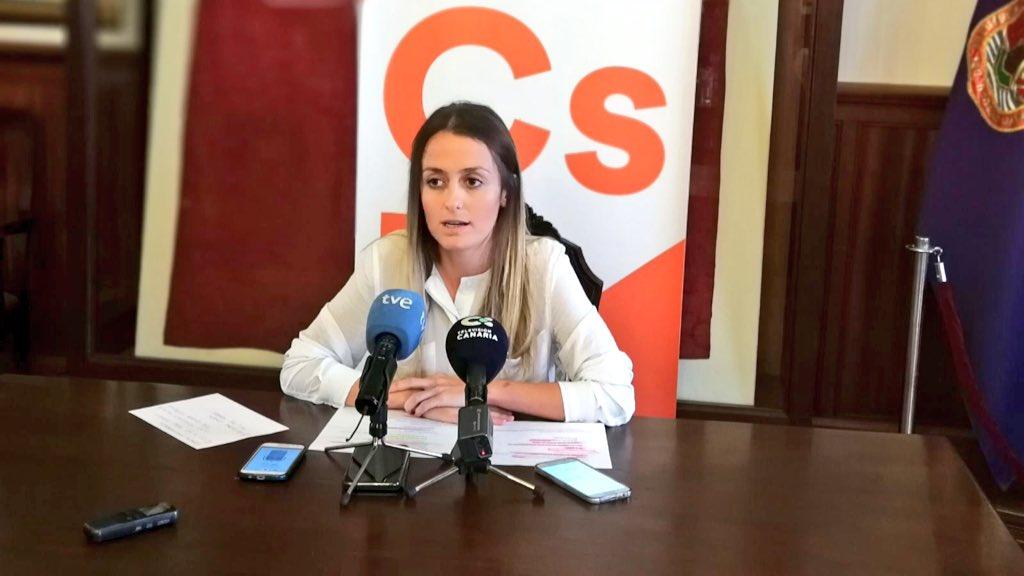 Ciudadanos pide explicaciones a CC y PSOE por los apagones ocurridos el pasado fin de semana en el casco de La Laguna