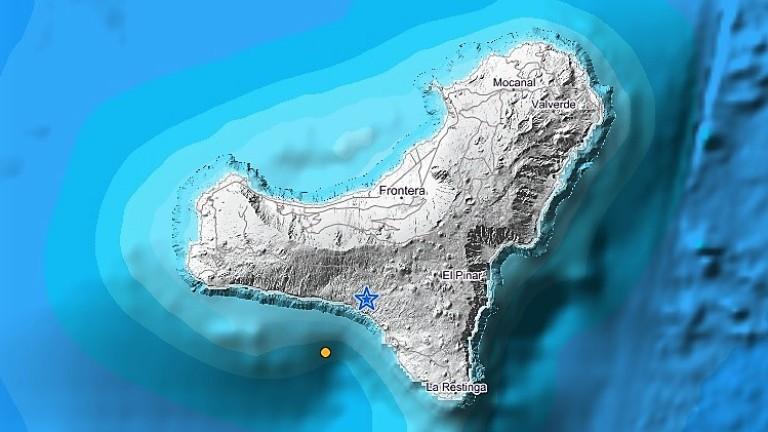 Terremoto de 3,5 en El Hierro