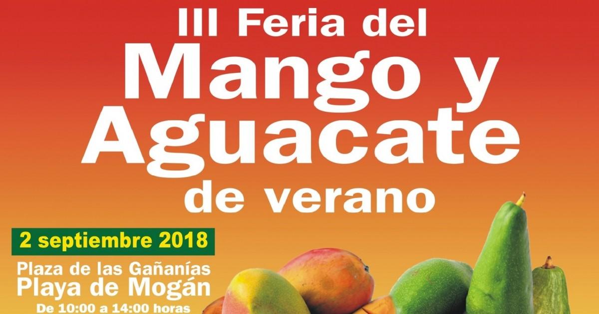 Mogán abre el plazo de inscripción para participar en la III Feria del Mango y Aguacate de Verano
