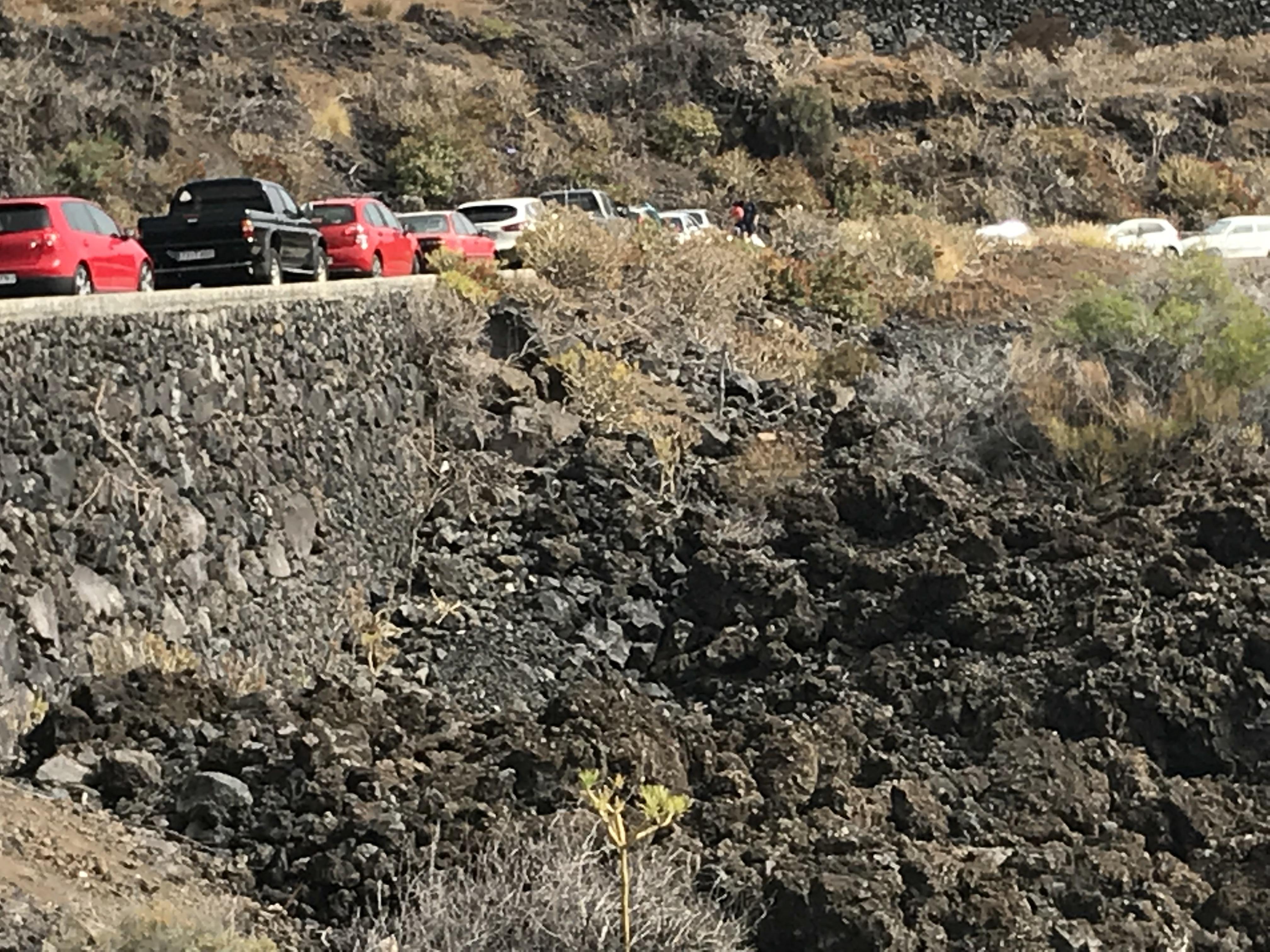 Cs exige al Ayuntamiento de Los Llanos de Aridane que adopte medidas de seguridad en la carretera