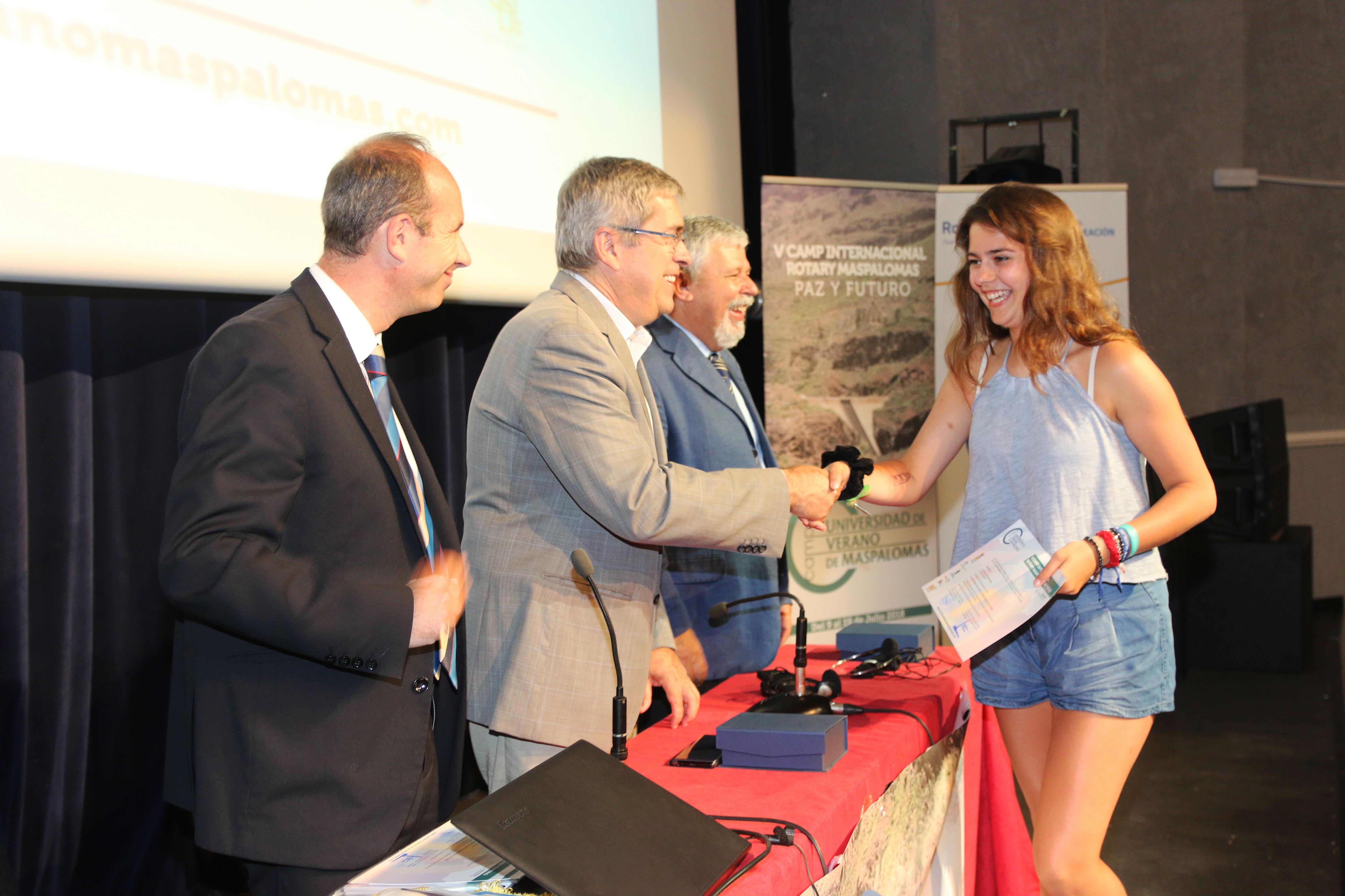 Marco Aurelio Pérez destacó el nivel y la calidad de ponentes y participantes del V CAMP Internacional Rotary