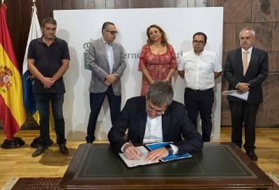 Fernando Clavijo presenta la nueva Estrategia Canaria de Activación para el Empleo