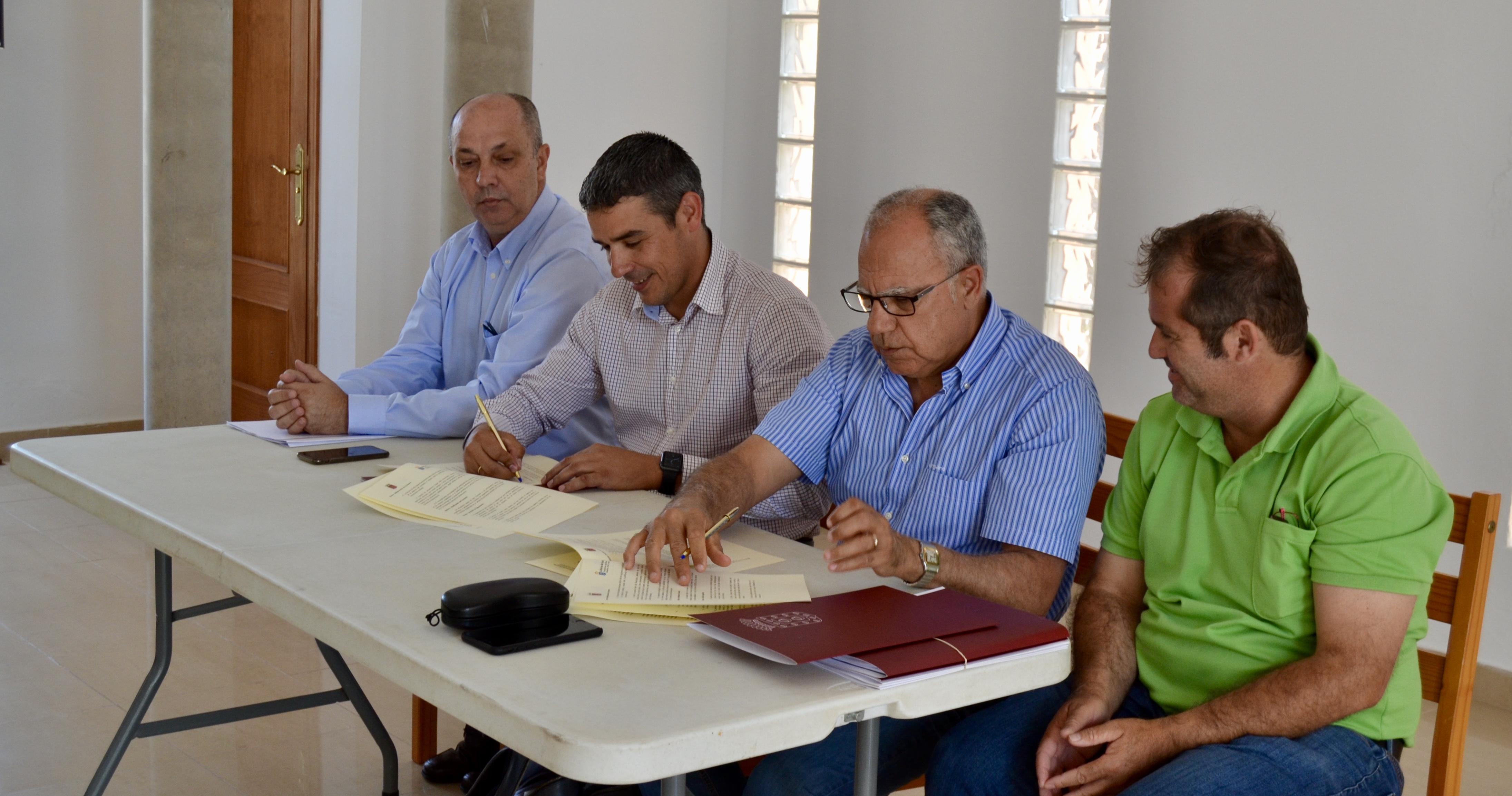 Canarias aportará al Cabildo Insular 499.200 euros en obras hidráulicas en La Gomera
