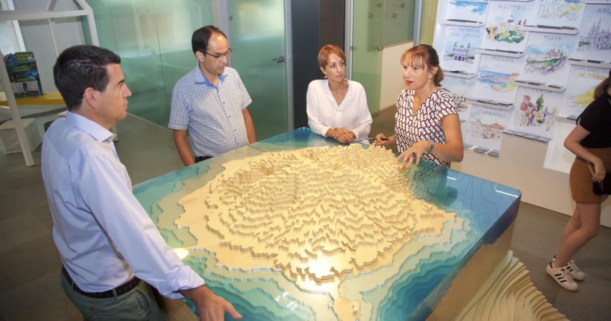 Mogán logra recuperar el convenio en infraestructuras turísticas con el Patronato de Turismo