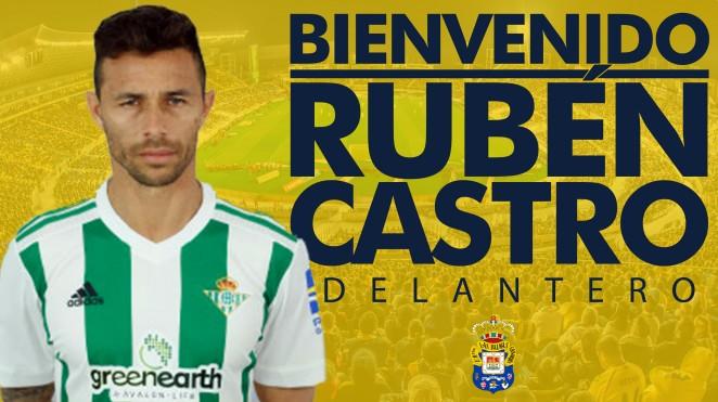 Rubén Castro, nuevo fichaje de la UD Las Palmas